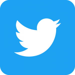 Twitter Social Icon Rounded Square Color