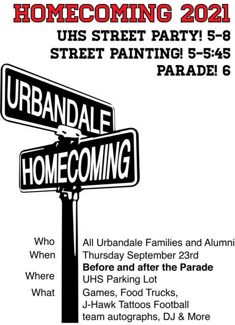 UHS Street Party Sept 23 2021